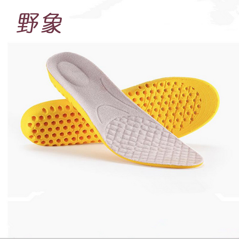 Insole for shoes foot care pads sport running cushion height increase 3cm comfortable shoe insoles free to trim for man or women honeycomb structure unisex 2 layer height increased shoe insole pads deep pink pair