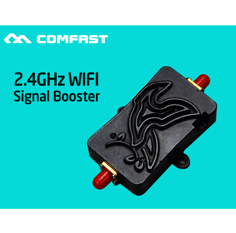 COMFAST 2.4Ghz 4W 802.11n Wireless Wifi Signal Booster Repeater Broadband Amplifier for Wireless Router wireless adapter CF G103