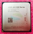 Free Shipping for A4 5300 A4-5300 3.4Ghz 65W Quad-Core CPU Processor   AD5300OKA23HJ Socket FM2