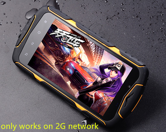 Original J6 IP68 MTK6582 Quad Core 1 3GHz Mobile phone 5 Screen 13 0mp GPS Shakepoof