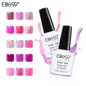 Elite99 Magent Nagel Gel 10 ml Gel Lacke Hybrid Nail art UV Gel Nagellack Für Nagel Verlängerung Reine Farbe top Basis Mantel
