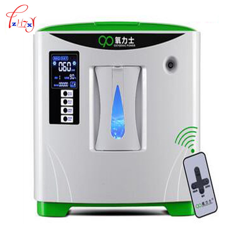 Last Updated 6L home use medical portable mini oxygen concentrator generator oxygen making machine 1pc updated version medical oxygen regulator pressure flowmeters hot sales
