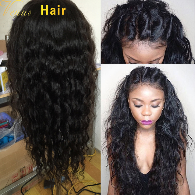 0d7d1f9244a US $84.0 |8A Glueless Wet Wavy Full Lace Human Hair Wig For Black Women  Brazilian Virgin Hair Wigs Wet Wavy Lace Front Wigs With Baby Hair-in Human  ...