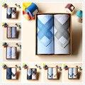 2 Menle unids/set 100% Pañuelo de Algodón Pañuelo El Sudor Suave Pañuelos de Las Mujeres Unisex de 15 Colores 43*43 cm