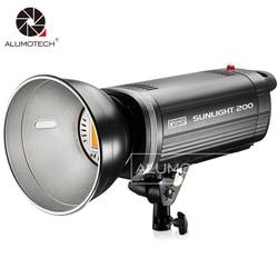 200W LED Light High CRI Sunlamp Strobe Flash Lighting Photogarphy Fill Flash For Baby Photogarphy Studio Camera Video