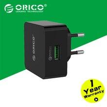 Orico qck-1u 1 порт для быстрого заряда qc 2.0 настольный usb зарядное устройство с бесплатным кабель micro usb-черный
