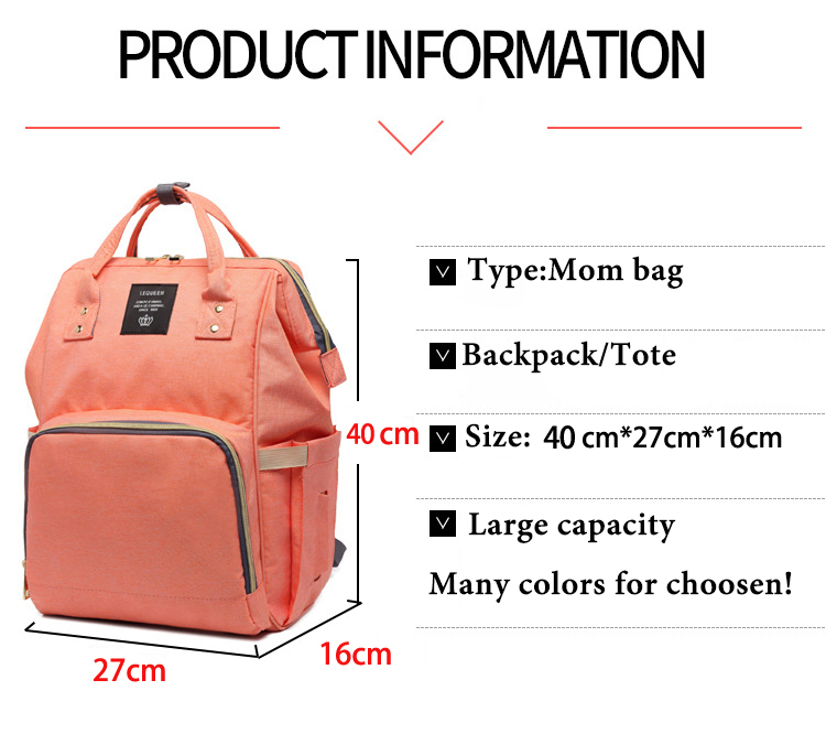HTB1.4uIir1YBuNjSszhq6AUsFXay Large Capacity Baby Bag Mummy Travel Backpack Fashion Brand Designer Nursing Bag for Baby Mom Backpack Women Carry Care Bags