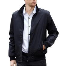 48400c66aae2 Uomini giacca Solid Zipper Bomber Windrunner Giacca Uomo Primavera Sottile  giacche a Vento Casual Maschile cappotto