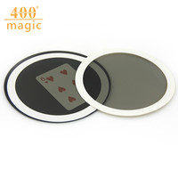 2017 Special Offer New Thumb Magie Trucos De Magia Poker Magic Mirror Prophecy (diameter 7cm) Close-up Tricks Props 400magic