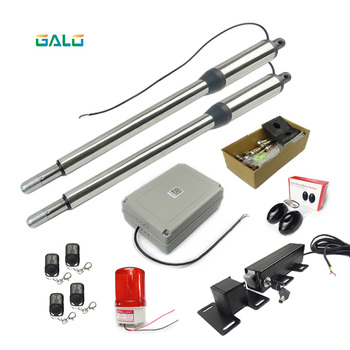 per leaf stainless steel Swing Gate Opener kit with Electric