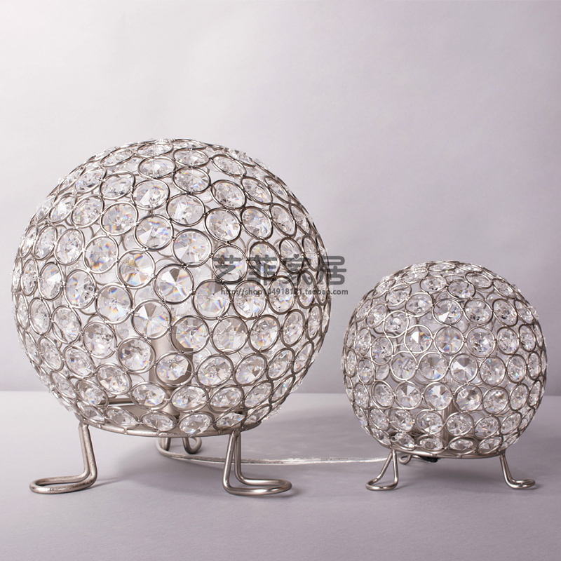modern crystal table lamp ancient bedroom classic crystal ...