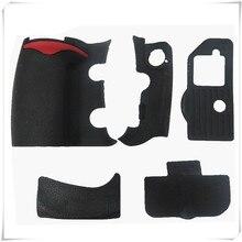 Набор резиновых корпусов 5 шт. передняя крышка и задняя крышка Резина для Nikon D300 D300S камера Замена Ремонт Запасные части