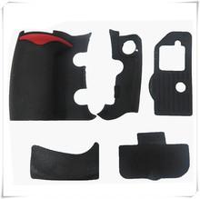 Nowy zestaw gumy ciała 5 sztuk przednia okładka i tylna pokrywa gumy do aparatu Nikon D300 D300S wymiana części zamienne do napraw tanie tanio Lustrzanki DHhanqisen FOR NIKON D300 D300S Plastikowe