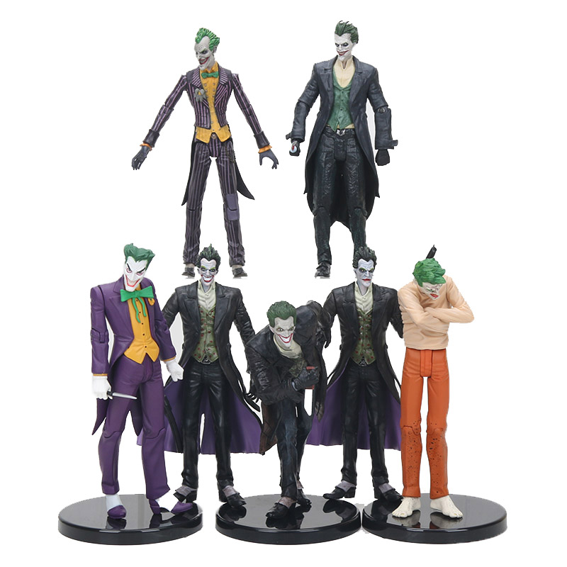 14-18CM anime Marvel the avengers The Joker figure PVC Action Figure Collectible Model Toy character Classic Toy children