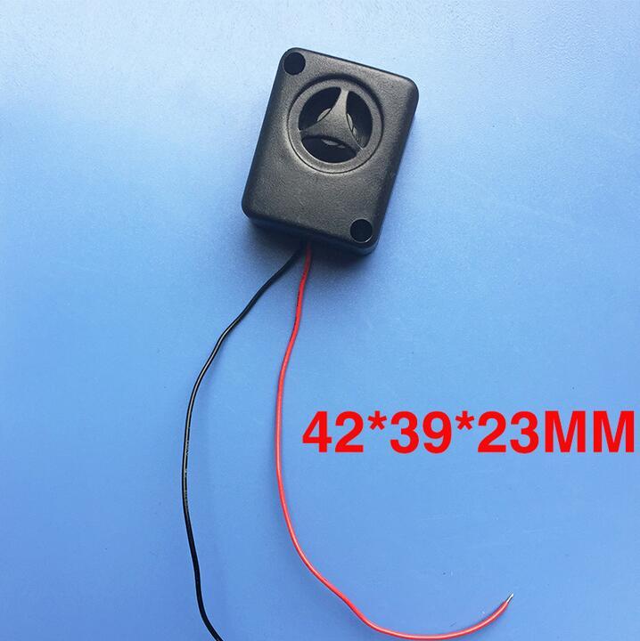 47*39*23MM 6-15VDC Rectangular piezoelectric High decibel buzzer Burglar alarm for car