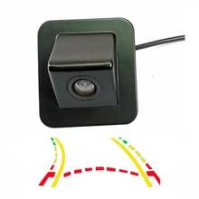 CCD 600 Linea Intelligente Dinamica Traiettoria Tracce Videocamera vista posteriore per Hyundai Elantra Avante 2012 Assistenza di Parcheggio