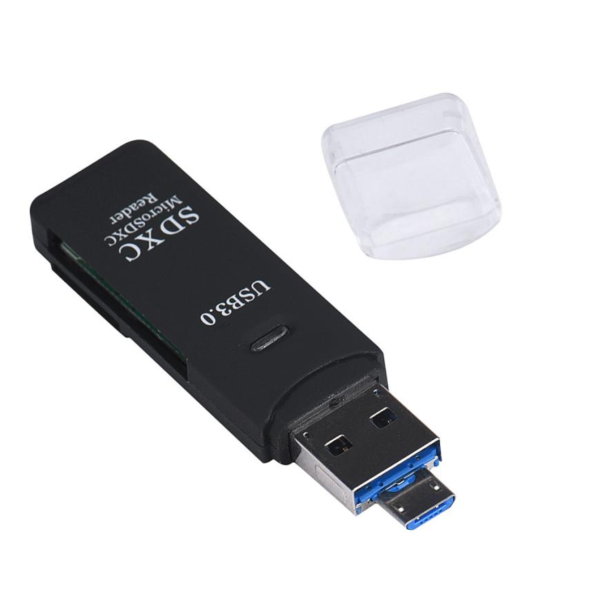 Usb 3 0 Superspeed Sd Micro Sd Memory Card Media Reader