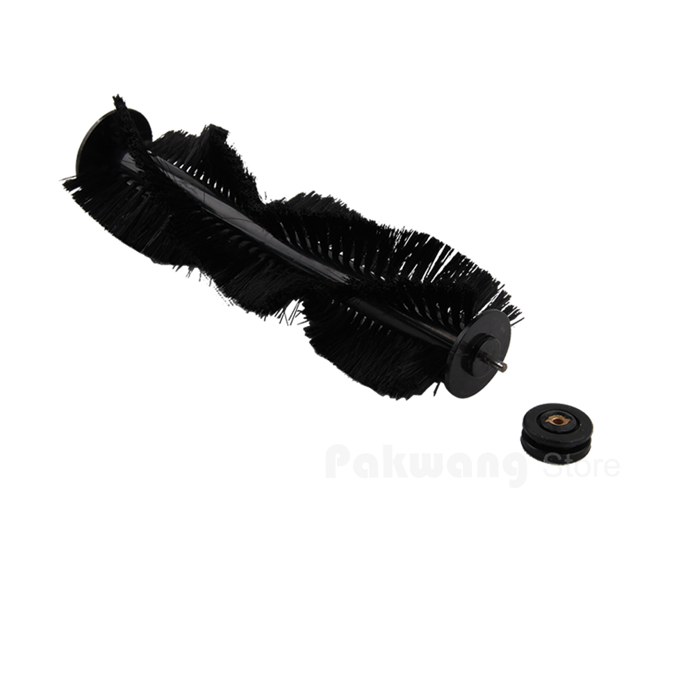 XR510 Hair Brush With Rubber Sleeve 1pc,  Robot Vacuum Cleaner  Spare Parts original brush for a325 robot vacuum cleaner spare parts hair brush 1 pc yellow