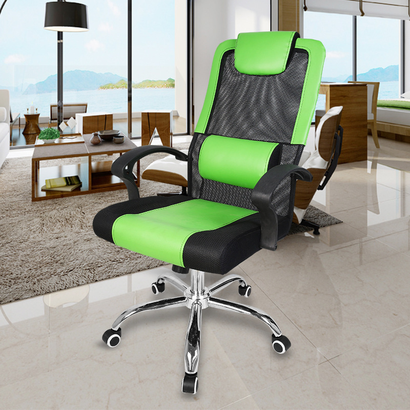 Computer Chair Household Steel Foot Net Cloth To Work In An Office Chair Swivel Chair Ergonomic Can Lift Staff Member Chair стоимость