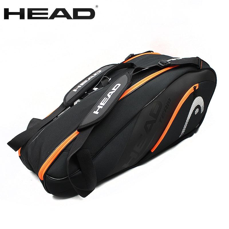 HEAD Tennis Bag Large 6 9 Tennis Racquets Sport Bag Men Tennis Racket Bag Handbag Women