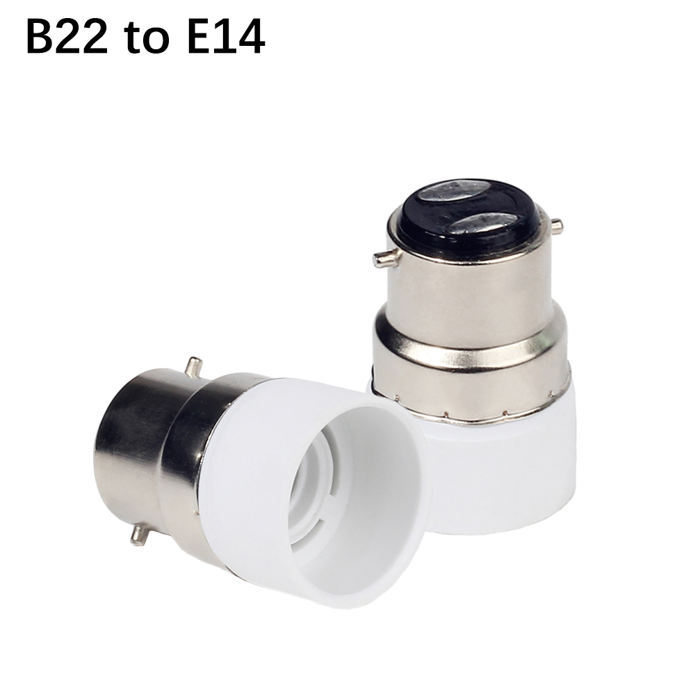 1 шт. B22 к E14 GU10 Лампа База B22 держатель лампы Конвертор гнездо адаптера для Светодиодная лампа spotlight
