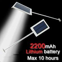 2016 nueva 15 LED Del Sensor de la lámpara Solar solar Powered Panel Spot LED Luz de Calle Al Aire Libre Camino de Jardín Lámpara De Pared De Emergencia luminaria