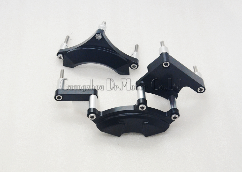 ФОТО For YAMAHA YZF R25/R3 YZF-R3 YZF-R25 2014-2015 Motorcycle Frame Slider Engine Stator Case Guard Cover Protector