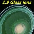 Lente de cristal 1.9 lente asférica película verde de alta definición de alta refracción ultra-fina de alta miopía lentes de prescripción