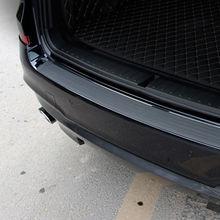 Автомобильный Стайлинг багажник резиновый Задний защитный бампер, протектор Накладка для Subaru Forester Outback Legacy XV Impreza Sport