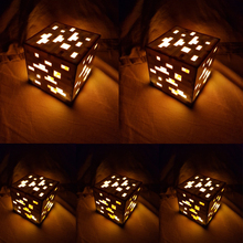 Original Light Up Minecraft Torch Lamp Hand Held or Wall Mount Lighting Ore Blue Stone Diamond Square Night Lights Kids Gift цены