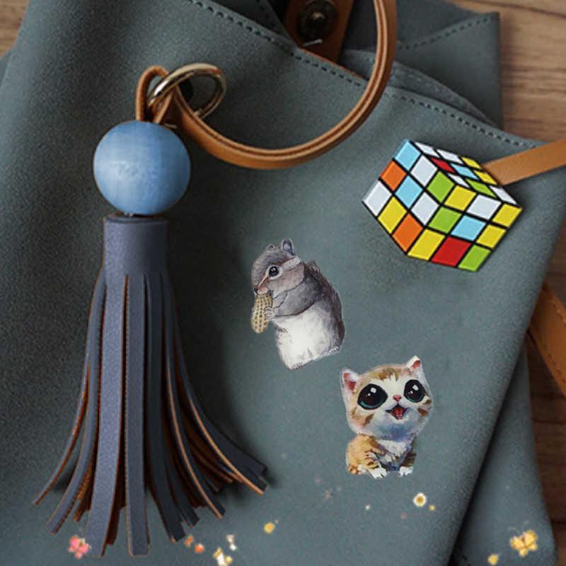Новый LNRRABC мода мультфильм животных кошка товары для собак эмаль броши для женщин Детская Брошь Jewelry DIY значок в виде хиджаба костюмы орнамент