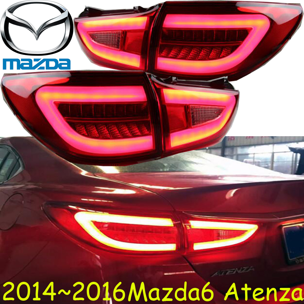 Mazd6 Atenza taillight,Sedan car,2014~2016,Free ship!LED,4pcs/set,Atenza rear light,Atenza fog light;mazd 6,Atenza,axela,CX-5 mazd cx 5 fog light led 2015 2016 free ship mazd cx 5 daytime light 2ps set wire on off halogen hid xenon ballast cx 5 cx5