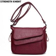 Fashion PU Leather Handbag for Women 2018 New Girl Messenger Bags with Bolsa Female Shoulder Bags Ladies Party Handbags цена в Москве и Питере