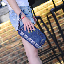 Rock Stud American Fashion Style Messenger Bag Clutch Handbag Punk Rivet Evening Bag Evnelope bag Designer Rivet Cross Body Bag