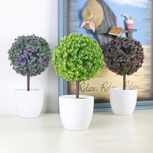 Simulation Of Plant Pots For Home Bar Decoration Wedding Store DIY Desktop Office Artificial Grass Fake Flower Wholesale