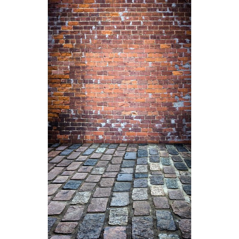 10ft vinyl print retro brick wall and floor photography backdrops for model wedding photo studio portrait backgrounds F-1574 retro background brick wall photo studio props vinyl vintage photography backdrops wooden floor 7x5ft jieqx050