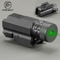 Tactical Green Laser Sight Fit 20 Mm Rail Mount Pistol Handgun Gun Laser Hunting Accessories Laser Sight Scope