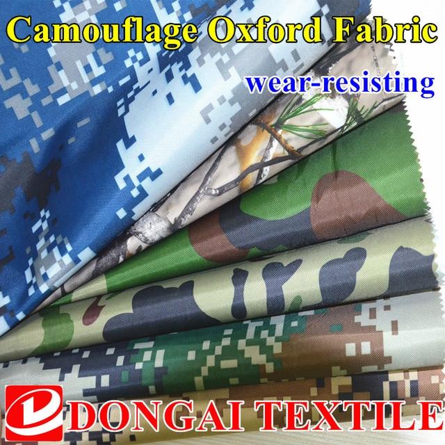 Breed 150 cm 420D Oxford doek camouflage gedrukt zilver waterdichte ...