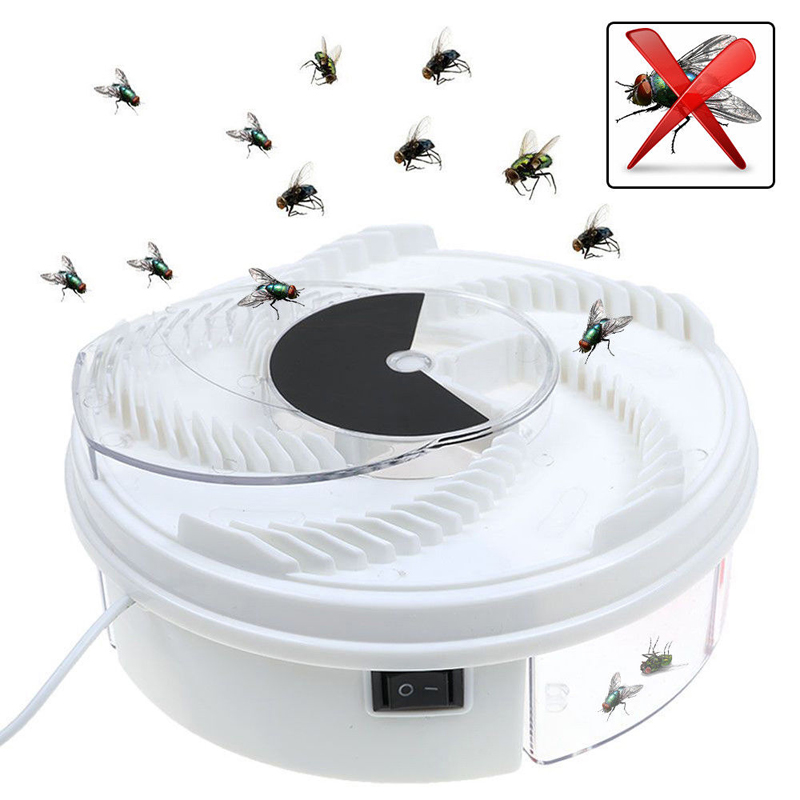Image 4 - Dropship Insect Traps Fly Trap Electric USB Automatic Fly Catcher Trap Pest Reject Control Catcher Mosquito Flying Anti Killer-in Traps from Home & Garden