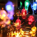 20-LED Spider Light String Chains 2M Decoration Lighting Strip