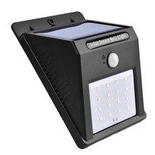16 LED Solar Power PIR Motion Sensor Wall Light Outdoor Garden Waterproof Lamp Bike Bicycle Accessories Top Quality Jane 12