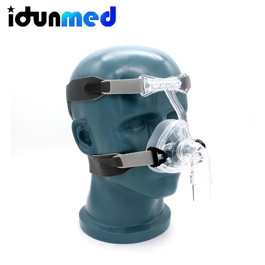 BMC Auto CPAP Neusmasker Siliconen Respirator 3 Size Kussens Met Verstelbare Hoofddeksels Band Voor Slaapapneu Anti Snurken-in Slaap & snukeren van Schoonheid op  Groep 2