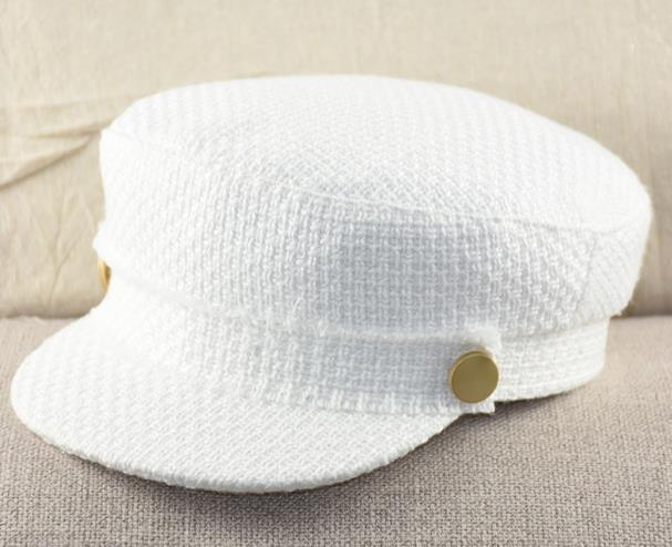 Bekleidung Zubehör KüHn Verkauf Premium Qualität Damen Military Caps Kommende-von-alter Zeremonie Caps Campus Student Caps Hüte Coole Vintage Caps Für Mädchen