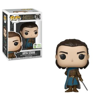 FUNKO POP New Arrival Game of Thrones ARYA STARK 76# PVC Action Figure Collection Model Toys for Children Christmas Gift
