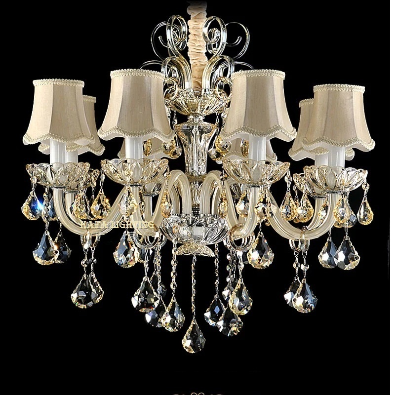 Modern Crystal Chandelier Luxury Bedroom Chandelier crystal Lighting Top K9 Crystal chandelier Room Lights Chandeliers crystal home lighting indoor lamp room chandeliers modern crystal light chandelier luxury cognac color top k9 crystal 6 8 arm