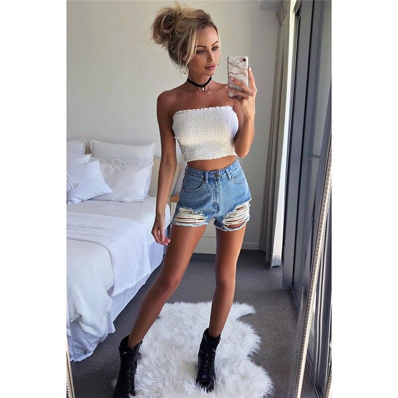 6a273a0c0d0 Women Strapless Shirt Elastic Boob Bandeau Tube Tops Bra Lingerie Breast  Wrap Crop Top Summer Bustier Bralette Casual Shirt. DN07002 2. DN07002 (2)  DN07002 ...