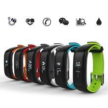 P1 Bluetooth 4.0 Смарт Браслет монитора артериального давления носимых сердечного ритма Мониторы Смарт-часы