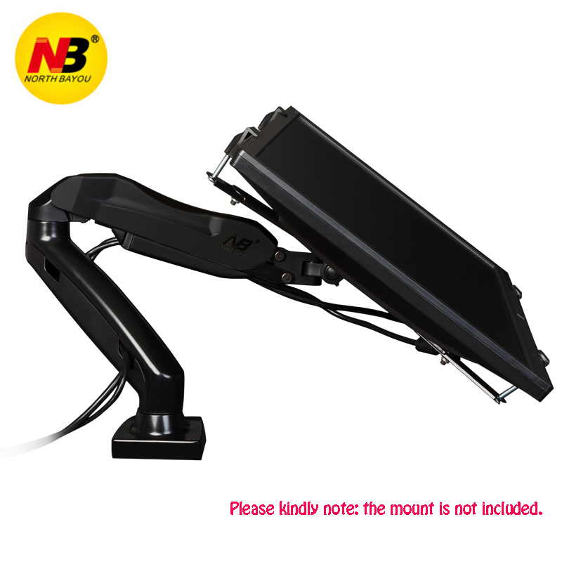 NB FP-1 Extension VESA Adapter Fixing Bracket Monitor Holder Support for 14-27 inch No Mounting Hole Monitors LCD Display Mount