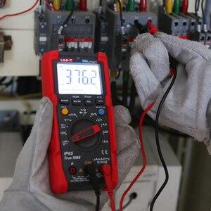 Image 2 - UNI T ut191e/ut191t multímetro profissional; verdadeiro rms ip65 impermeável/dustproof multímetro digital, temperatura/loz tensão