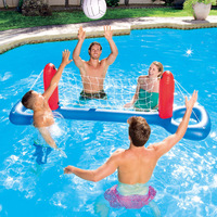 Bestway inflatable water volleyball net pool entertainment toy volleyball stand